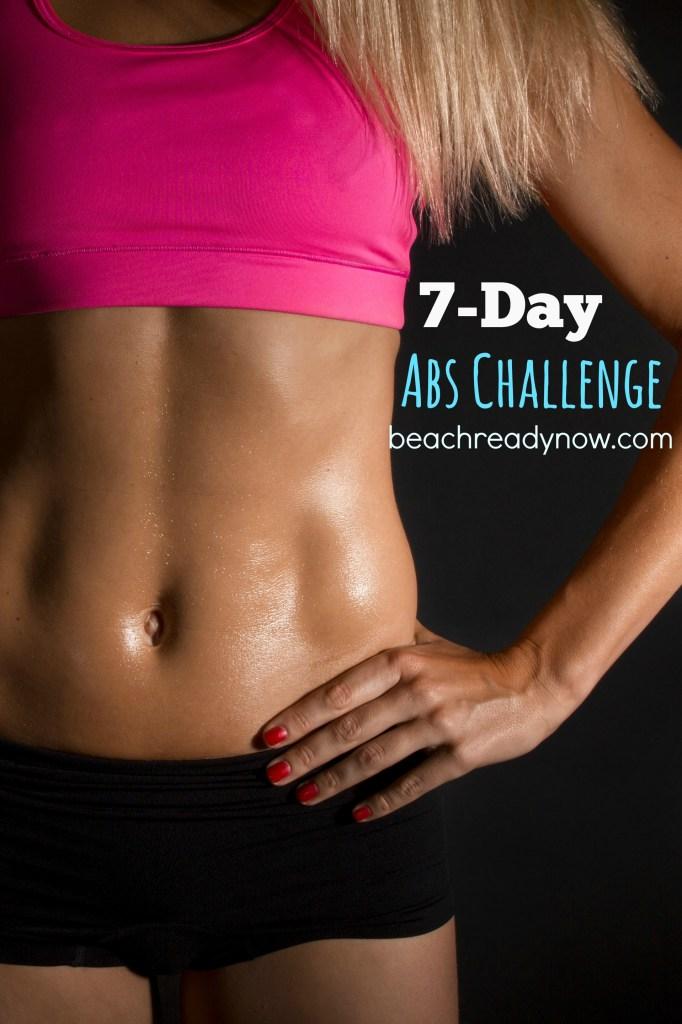 FREE 7-Day Abs Challenge - BeachReadyNow.com
