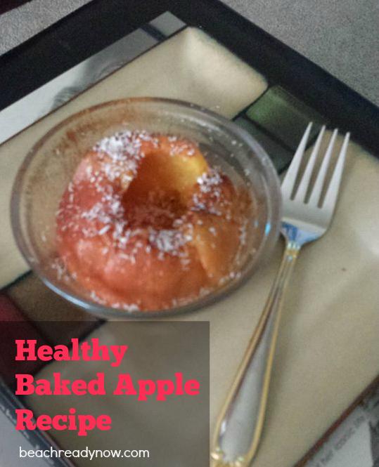 HEALTHY baked apple recipe