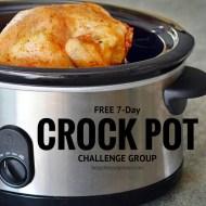 7-Day Healthy Crock Pot Challenge Starts MONDAY!