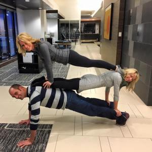 Jeff krommenhoek kim danger christin mielke planking extravaganza