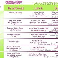 21 Day Fix ALDI Meal Plan #4
