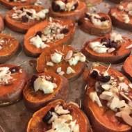 Sweet Potato Goat Cheese Rounds