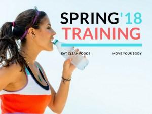 Spring Training Challenge