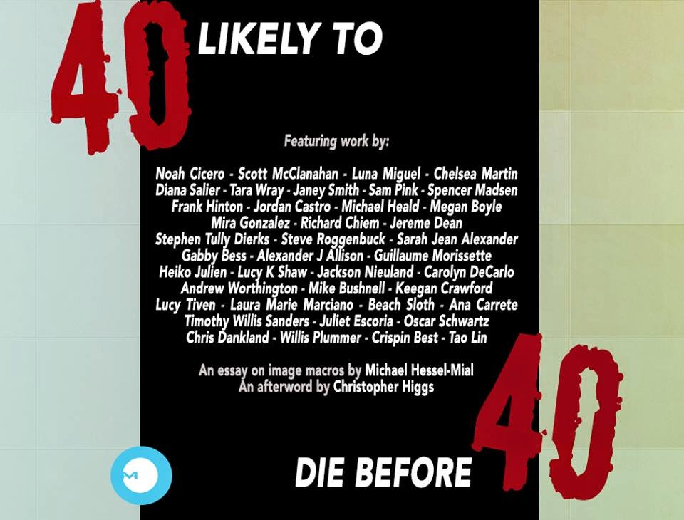 40 Likely to Die Before 40: Pre-Hype