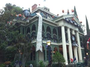 Disney's Haunted Mansion with the Jack Skellington Touch.