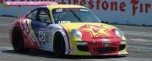 Patrick Long in the Winning Car