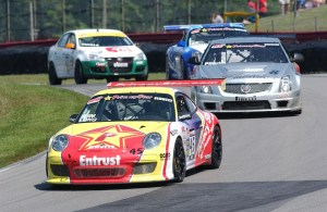 Patrick Long Leads the Pack TruSpeed Porsche #45