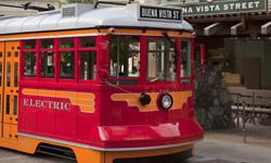 New Trolley at Disney's California Adventure