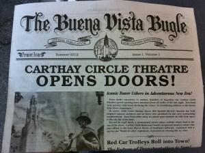 Newspaper returns to Disneyland Resort