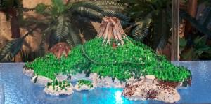 Volcano Cake from Cake Tahoe