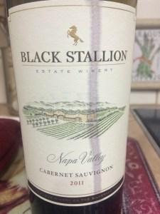 Black Stallion Estate Cabernet Sauvignon