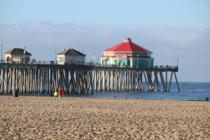 Huntington Beach Pier by Kelly Bourquin