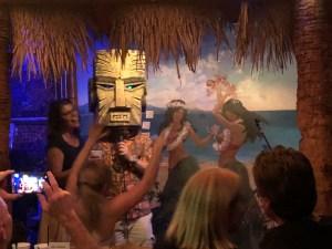 The Tiki Head Karaoke at Don The Beachcombers Last Night