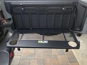 Jeep Jl Back Door Shelf