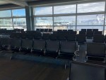 Quarantine Cabin Fever and the Airports are empty.