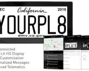 reviver digital license plate