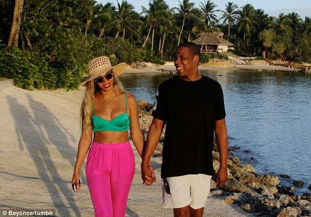 beyonce and jz in the dominican republic