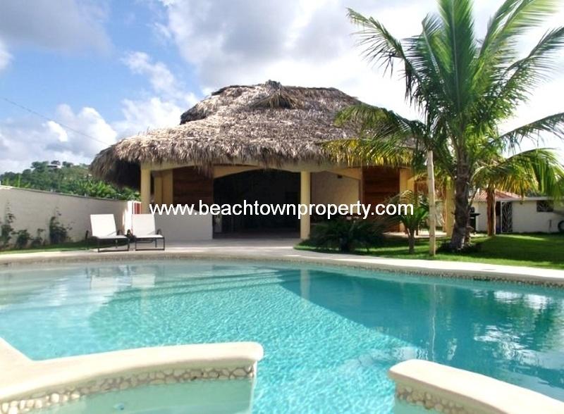 Amazing Caribbean Style Furnished 4 Bedroom Villa in Las Terrenas