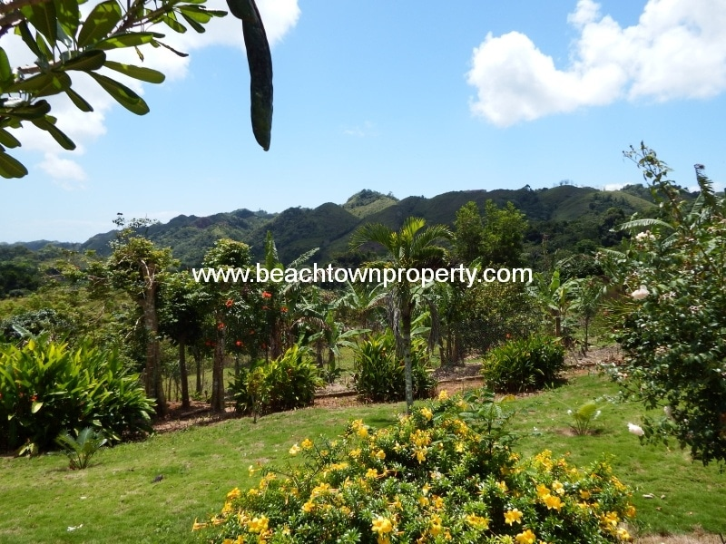 Las Terrenas house development land ideal Bed Breakfast complex