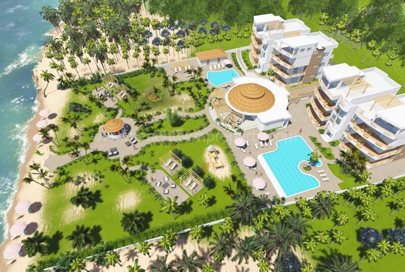 Tax Free Beach Front Apartments at Coson Samana Dominican Republic