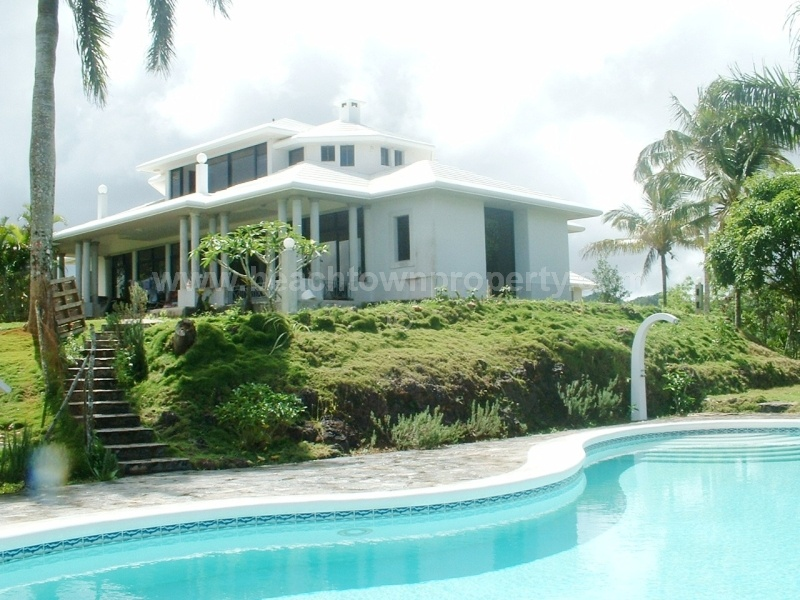 Ocean View House on its own Hill Las Terrenas Dominican Republic