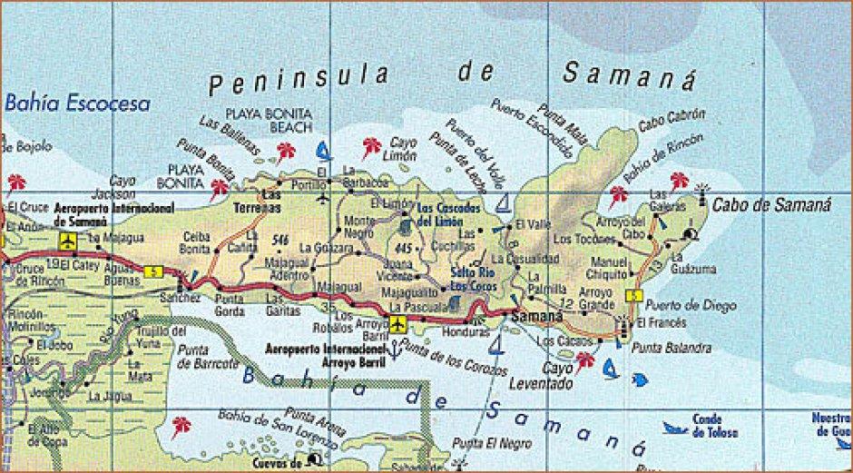 map of samana
