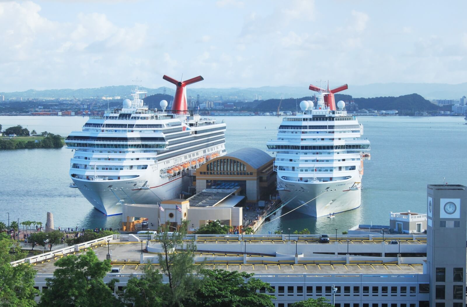 Colonial Zone in Santo Domingo Ready For Cruise Ship Tourists