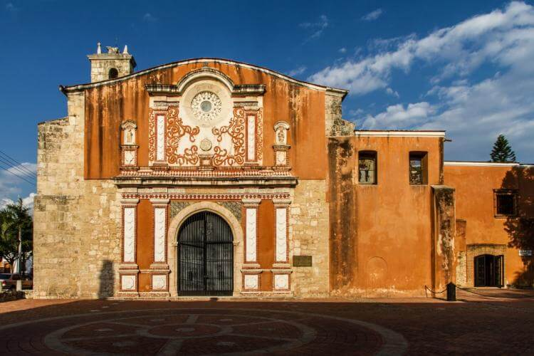 The Church and Convent of the Dominican, located in Santo Domingo's Zona Colonial, was the first convent in the New World.