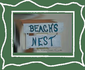 BCh Beach's Nest Framed