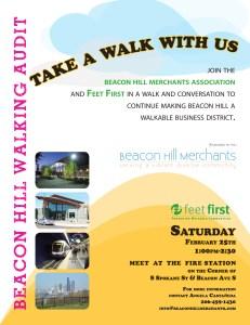 Beacon Hill Walking Audit Flyer