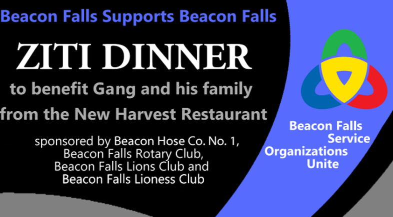Ziti Dinner to Benefit New Harvest's Gang Guo