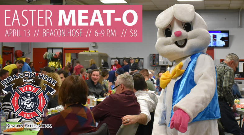 Beacon Hose's Annual Easter Meat-O Set for April 13