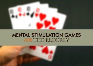 Mental Stimulation Games for the Elderly