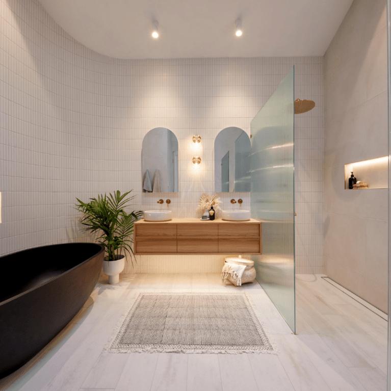 bathroom lighting ideas from the block 2020