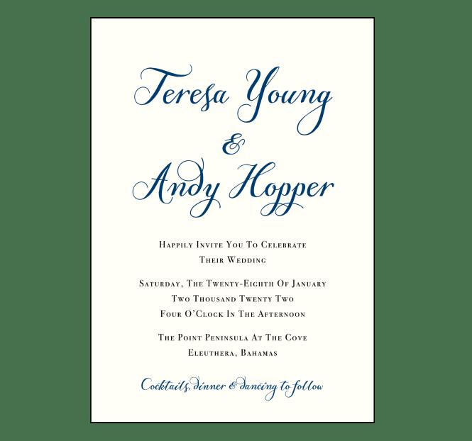Customize These Destination Wedding Invite Wording Samples