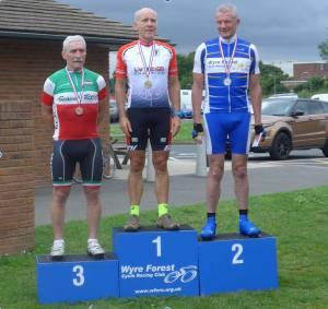 LVRC Crit Championships podium