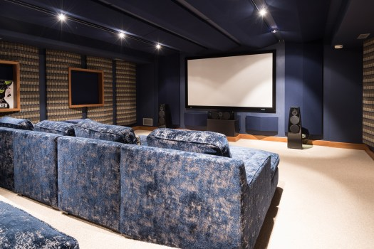 homes for sale with movie theaters