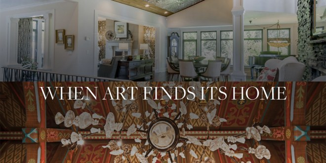 When Art Finds Its Home: A Collection of Luxury Residences with Custom Art Pieces