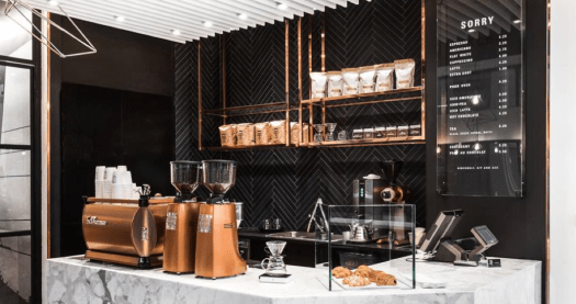 Luxury coffee company