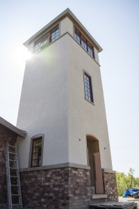 Tower entry