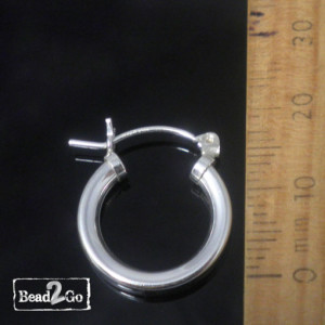 silver-hoop-earrings-Bead2Go
