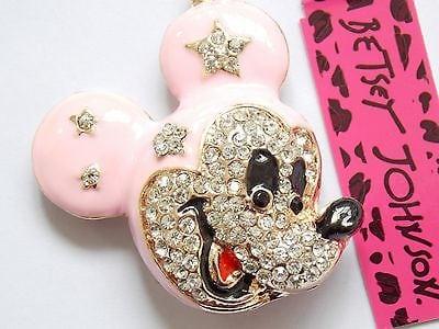 Betsey Johnson Female Mouse Pendant