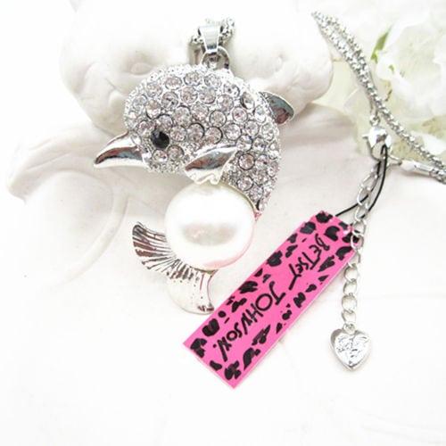 Betsey Johnson Hummingbird Pendant