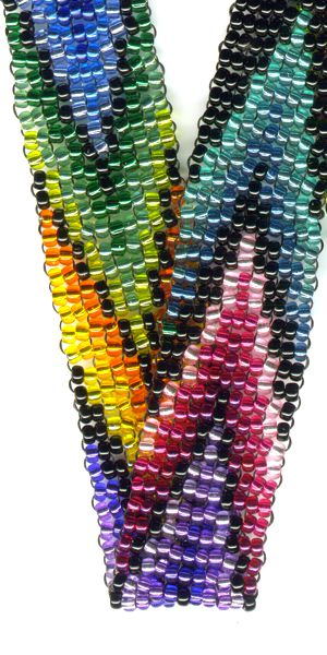 Rainbow Lanyard Beading Patterns And Kits By Dragon