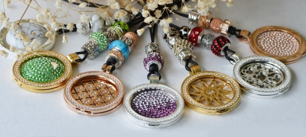 Coin Pendants and Charm Beads