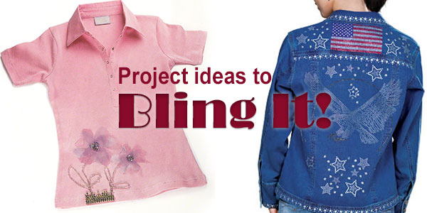 Bling for Spring! Swarovski crystal project ideas