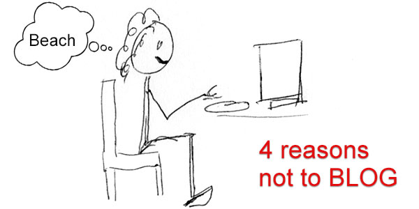4 reasons I have ignored my blog