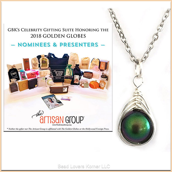 Bead Lovers Korner necklace in The Artisan Group gift bag