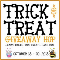 Teach Your Dog to Spin {Trick or Treat GIVEAWAY Hop 2018}
