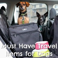 Must Have Travel Items for Dogs {Stocking Stuffer Giveaway – Day #9}
